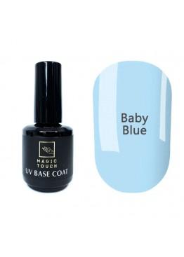 Гель лак Magic Touch  COLOR BASE/ RUBBER 02 BABY BLUE 15 мл.
