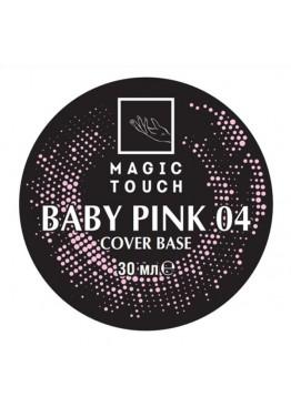 Гель лак Magic Touch  FRENCH BASE/ RUBBER 04 BABY PINK (30мл.) Гель-лаки