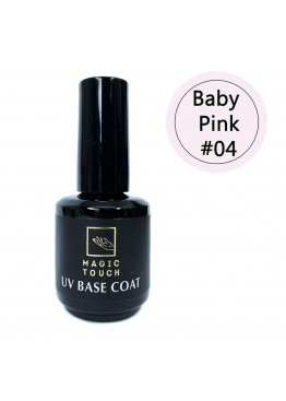 Гель лак Magic Touch  FRENCH BASE/ RUBBER 04 BABY PINK (15мл.)