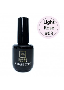 Гель лак Magic Touch  FRENCH BASE/ RUBBER 03 LIGHT ROSE (15мл.)
