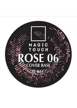 Гель лак Magic Touch  FRENCH BASE/ RUBBER 06 ROSE (30мл.) Гель-лаки
