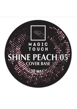 Гель лак Magic Touch  FRENCH BASE/ RUBBER 05 SHINE PEACH (30мл.) Гель-лаки