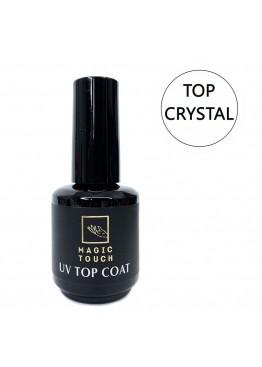 Гель лак Magic Touch  TOP/ CRYSTAL (Ультраглянец) без липкого слоя 15мл. Гель-лаки