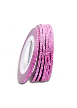 Лента скотч сахарная 2мм Розовая