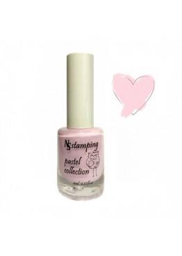 Лак для стемпинга Nail Story Pastel Collection 11мл. Розовый-нежный (1)