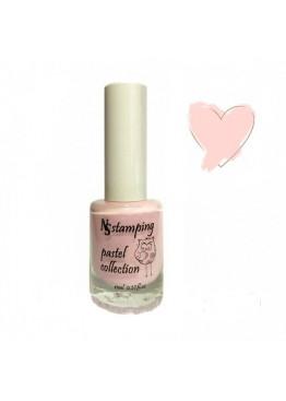 Лак для стемпинга Nail Story Pastel Collection 11мл. Персиковый-нежный (2)