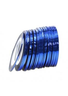 Лента скотч 0,8 мм Синяя