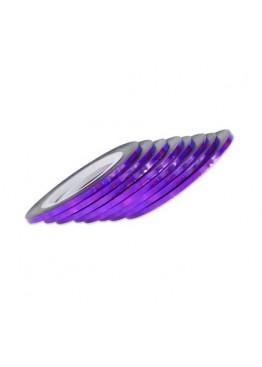 Лента скотч 2мм голограмма фиолетовая