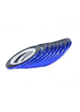 Лента скотч 2мм синяя голограмма
