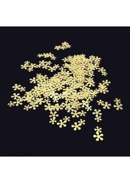 Металлический Дизайн ММ №  2 Цветок двойной