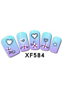 Наклейки 3D XF584