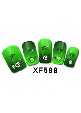 Наклейки 3D XF598