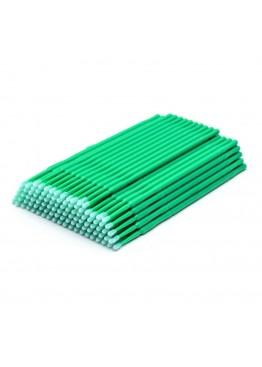 Микробраши в пакете Зелёные - 100 шт