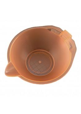 Миска для покраски волос  ММ оранжевая