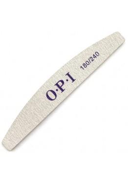 Пилка O.P.I полумесяц серая 180/240