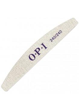 Пилка O.P.I полумесяц серая 240/240