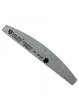 Пилка SALON 120/180 Полумесяц Серый