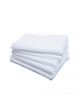 Одноразовые Салфетки 35*70см Нарезные Белые