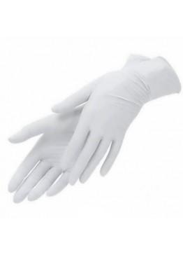 Перчатки нетриловые не опудренные Prestige Medical Белые (L)