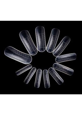 Типсы Верхние прозрачные  (100шт.коробка)