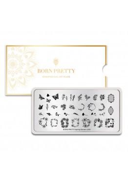 Стемпинг BORN PRETTY (Spring Garden) L-009