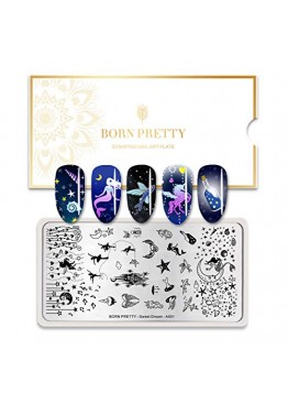 Стемпинг BORN PRETTY (Sweet Dream) A001