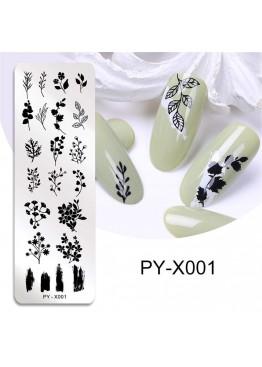 Стемпинг PY-X001