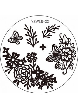 Стемпинг ММ диск YZWLE 22 АКЦИИ И РАСПРОДАЖИ