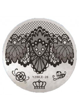Стемпинг ММ диск YZWLE 28