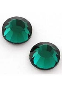 Стразы Emerald - изумруд зеленый  (SS 3) 1440шт.