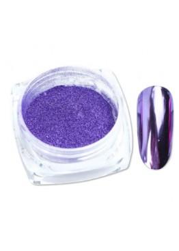 Втирка зеркальный блеск фиолетовая